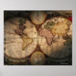 Antique world map 2