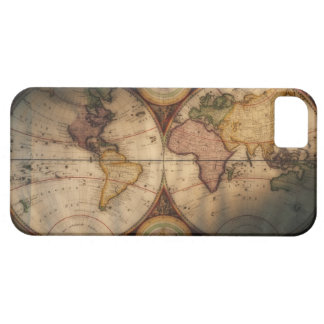 Antique world map 2 barely there iPhone 5 case
