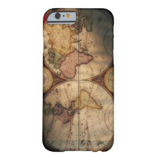 Antique world map 2 barely there iPhone 6 case