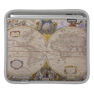 Antique World Map 2 iPad Sleeve