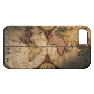 Antique world map 2 iPhone 5 covers