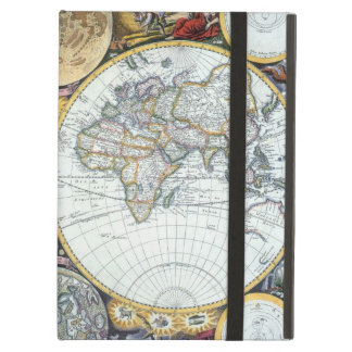 Antique World Map, Atlas Maritimus by John Seller iPad Air Cover