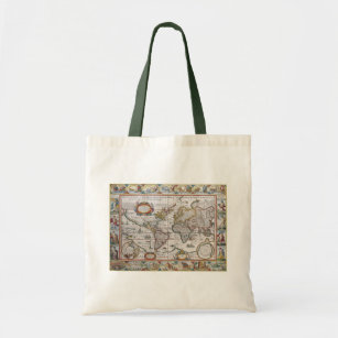 Old world map bags handbags zazzle antique world map bags choose style gumiabroncs Image collections