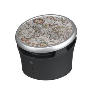 Antique World Map bluetooth speaker