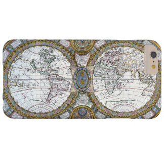 Antique World Map by Claude Auguste Berey, 1688 Barely There iPhone 6 Plus Case