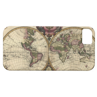 Antique World Map by Guillaume de L'Isle, 1720 Case For The iPhone 5