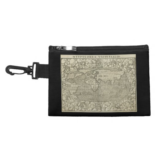 Antique World Map by Sebastian Münster circa 1560 Accessories Bags