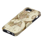 Antique World Map, c. 1680. By Frederick de Wit iPhone 5 Covers