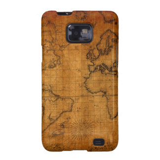 Antique World Map Samsung Galaxy S2 Cover