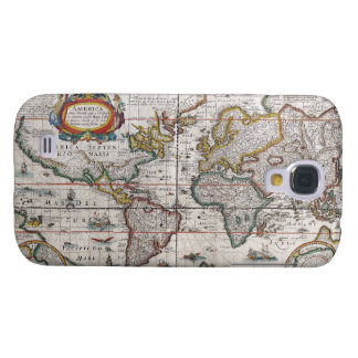 Antique World Map HTC case