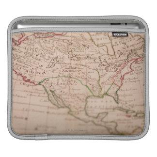 Antique World Map iPad Sleeve