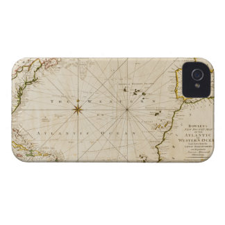 Antique world map iPhone 4 cover