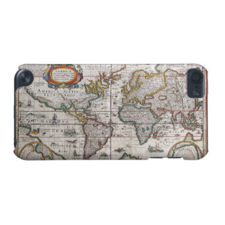 Antique World Map iPod Touch case