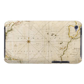 Antique world map iPod touch cases