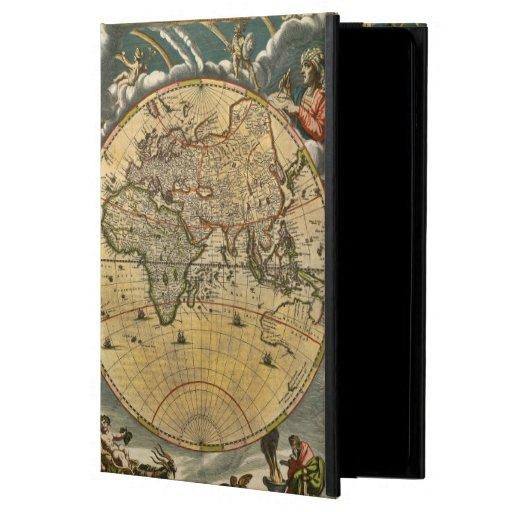 Antique World Map J. Blaeu 1664 iPad Folio Cases