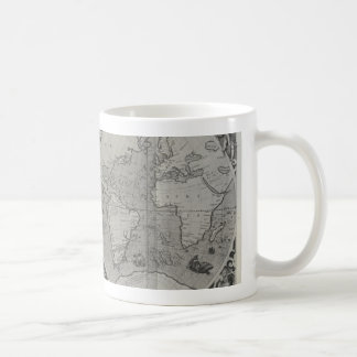 Antique World Map - Old maps of Asia Mugs