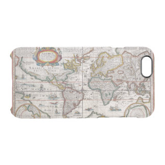 Antique World Map phone cases