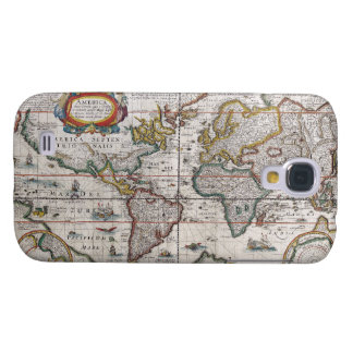 Antique World Map Samsung case