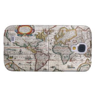 Antique World Map Samsung case Galaxy S4 Case