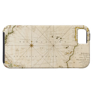 Antique world map tough iPhone 5 case