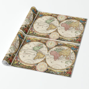World Map Party Supplies.Artistic World Map Crafts Party Supplies Zazzle Co Uk