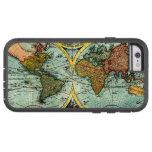 Antique World Map Vintage Globe Art iPhone 6 case Tough Xtreme iPhone 6 Case