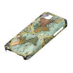 Antique World Map Vintage Globe Art Iphone Case