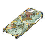 Antique World Map Vintage Globe Art Iphone Case iPhone 5 Covers