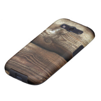 Antiqued Brown and TanWood Grain Galaxy SIII Cover