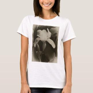 Antiqued White Iris 4 T-Shirt