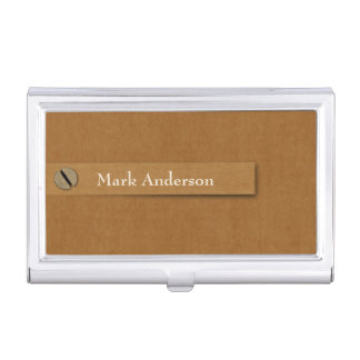 Antiques or Collectibles Dealer Business Card Holder