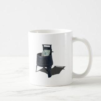 AntiqueWashingMachineMoney011815.png Basic White Mug