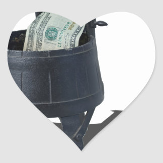 AntiqueWashingMachineMoney011815.png Heart Sticker