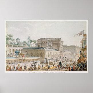 Antiquities found at Herculaneum Poster