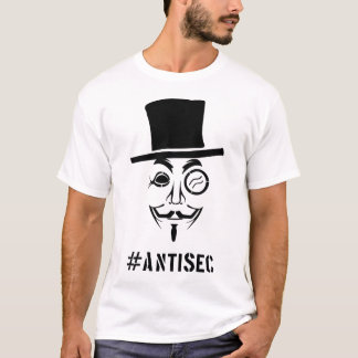 #Antisec FACE T-Shirt