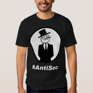 #AntiSec LOGO - B T Shirts