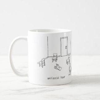 antisocial hour mug