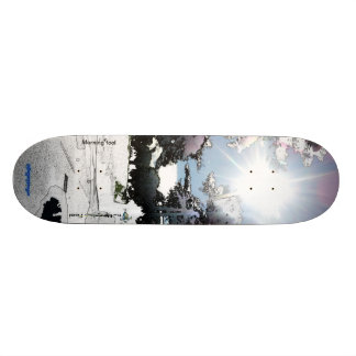 Antisoft competition board Morning fool Skate Board Deck