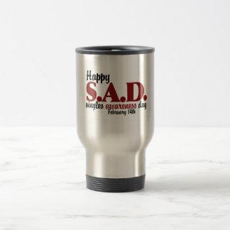 antivalentine S.A.D. 15 Oz Stainless Steel Travel Mug