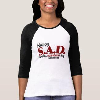 antivalentine S.A.D. T-shirts