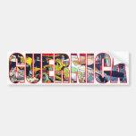 Antiwar Abstraction Bumper Sticker