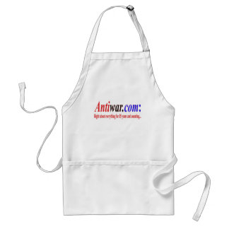 Antiwar.com right about everything standard apron