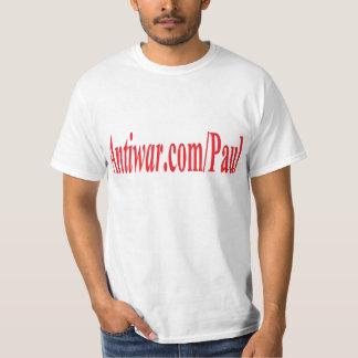 Antiwar dot com Paul T-Shirt