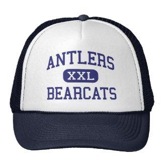 Antlers - Bearcats - High - Antlers Oklahoma Hats