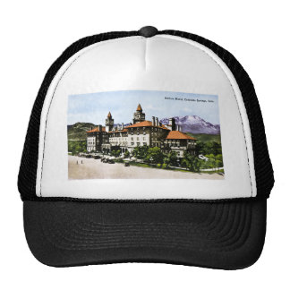 Antlers Hotel Color Springs Colorado Trucker Hat