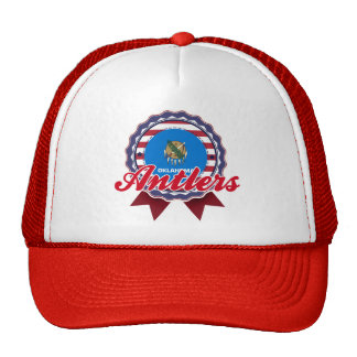 Antlers OK Mesh Hat