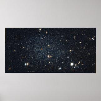 Antlia Dwarf galaxy Poster