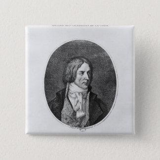 Antoine Christophe Saliceti  engraved 15 Cm Square Badge