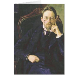 Anton Chekhov 1898 Greeting Card