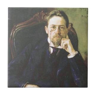 Anton Chekhov 1898 Ceramic Tile